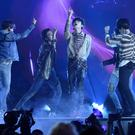 BTS perform Fake Love (Chris Pizzello/Invision/AP)