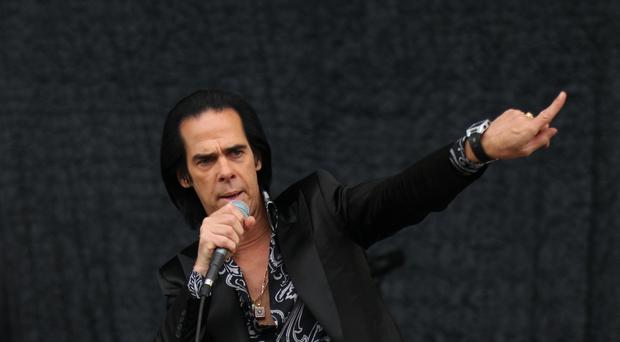 Nick Cave performed with Kylie Minogue (Yui Mok/PA)
