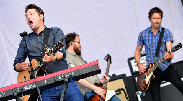 Scouting For Girls have released a World Cup single (Ian West/PA Images)