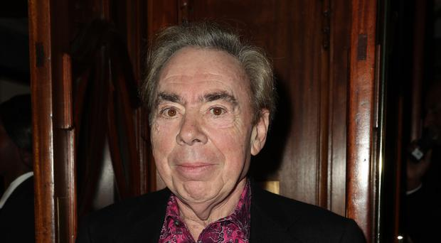 Andrew Lloyd Webber will be honoured at the Classic Brit Awards (Jonathan Brady/PA)