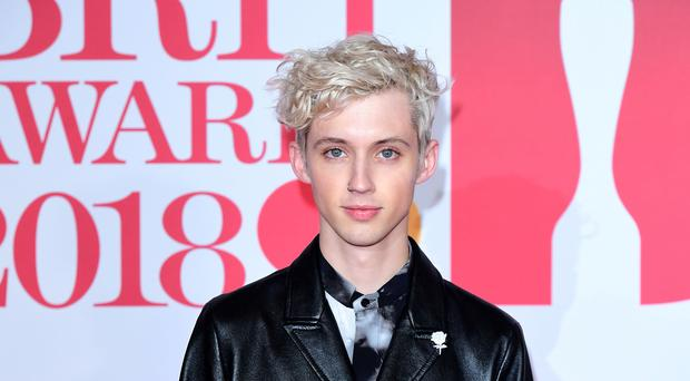 Troye Sivan has spoken of his joy at being on the cover of Billboard magazine's first ever pride issue (Ian West/PA)