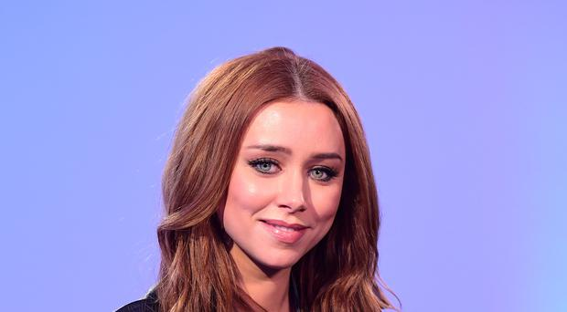 Una Healy has opened up on her battle with postnatal depression. (Ian West/PA)