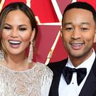 Chrissy Teigen poked fun at husband John Legend in an Instagram post (Ian West/PA)