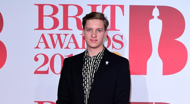 Singer-songwriter George Ezra is on course for his first UK number one single (Ian West/PA)
