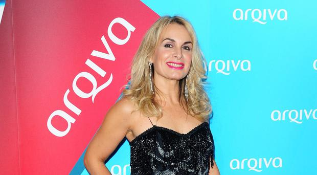 Jay Aston will have to mime during shows as she recovers from an operation (Ian West/PA)