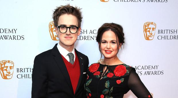Giovanna Fletcher has said comments about her pregnancy bump are 'deflating'. (Jonathan Brady/PA)