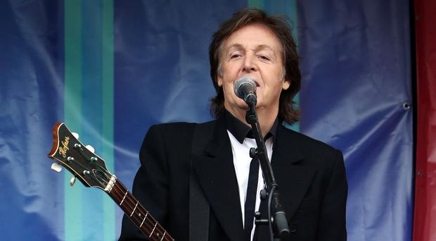 The Glasgow gig will be Sir Paul's first Scottish concert in almost a decade (Steve Parsons/PA)