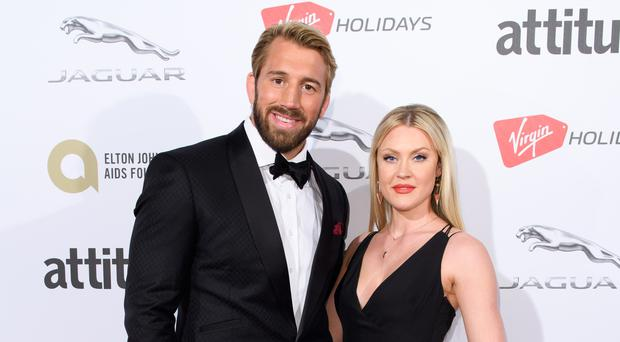 Camilla Kerslake and Chris Robshaw had been engaged since 2015 (Jonathan Hordle/PA)