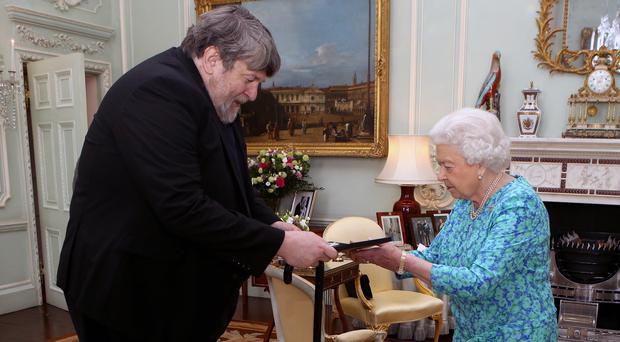 Oliver Knussen received several awards during his career including the Ivor Novello Award for Classical Music and the 2015 Queen's Medal for Music (Steve Parsons/PA)