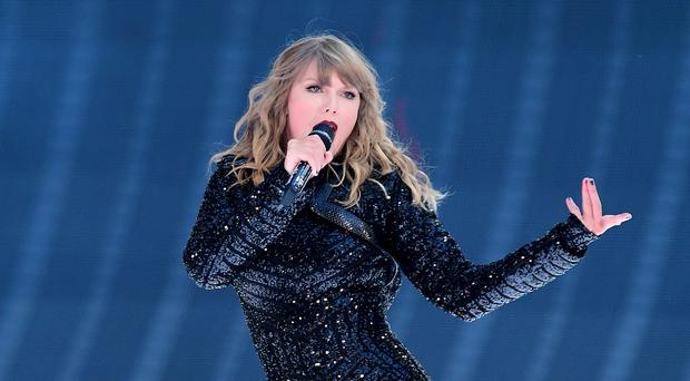 Taylor Swift was stunned by the proposal (Ian West/PA)