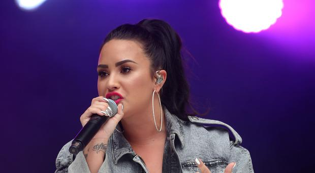 Celebrities have sent messages of support to Demi Lovato after the star was reportedly hospitalised (Isabel Infantes/PA)
