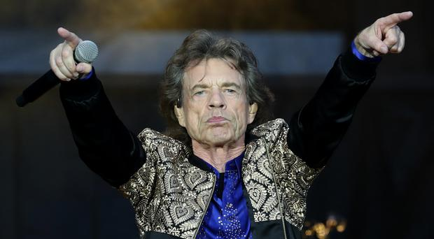 Mick Jagger has celebrated his 75th birthday (Jane Barlow/PA)