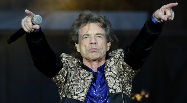 Payback for Sir Mick Jagger as his son mocks him in a birthday Instagram post (Jane Barlow/PA)