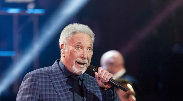 Sir Tom Jones's concert at York racecourse is off due to the bad weather. (David Mirzoeff/PA)