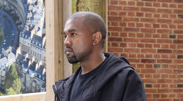 """Kanye West said he """"connected"""" with the fashion designer's journey (Jonathan Brady/PA)"""