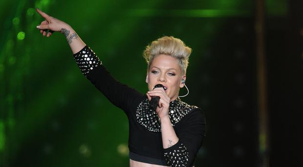 Pink fires back at 'snarky' suggestion over cancelled Sydney show (Joe Giddens/PA)