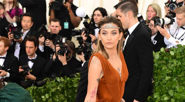 Paris Jackson formed the group with musician and singer Gabriel Glenn (Ian West/PA)