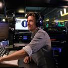 Greg James's Breakfast Show debut includes Red Arrows and a lion (Mark Allan/BBC)
