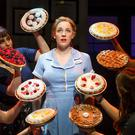 The original Broadway production of Waitress (Joan Marcus/PA)