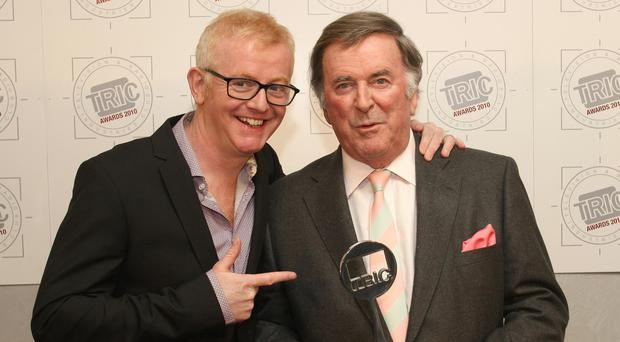 Chris Evans and Sir Terry Wogan (Image: PA)