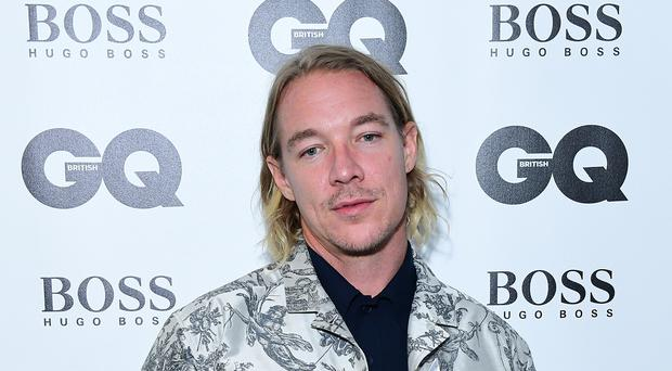 Diplo has said it was 'natural' for him to collaborate with his friend Dua Lipa on their new single Electricity (Ian West/PA)