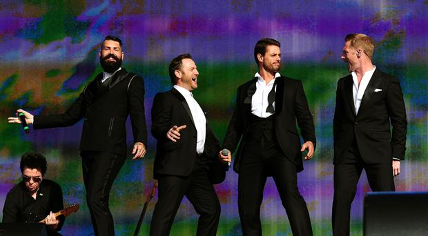 Boyzone have spoken about the emotional experience of recording a track featuring Stephen Gately's vocals (Ian West/PA)