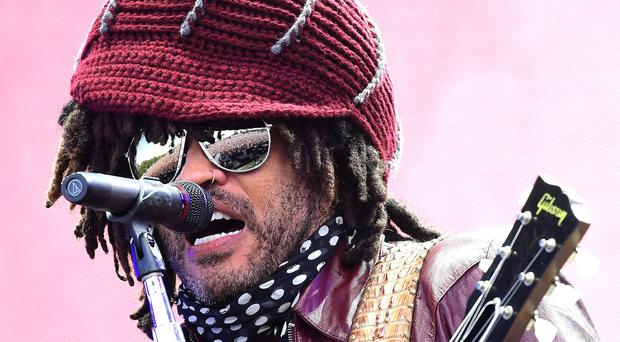 Lenny Kravitz performs at Radio 2 Live in Hyde Park (Ian West/PA)