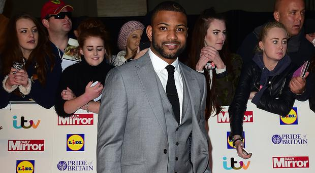 JB Gill says his son Ace is enjoying being a big brother to his new daughter Chiara (Ian West/PA)