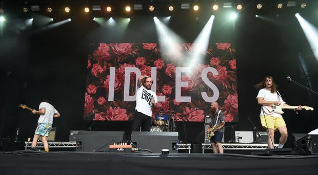 Punk band Idles lead the nominations for the 2018 Q Awards. (Ben Birchall/PA)