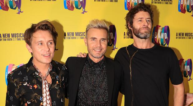 Take That announce tour and best of to mark 30 years together. (Peter Byrne/PA)