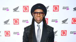 Nile Rodgers received the legend award (Ian West/PA)