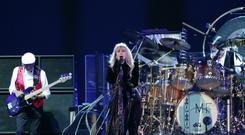 Fleetwood Mac on stage (PA)