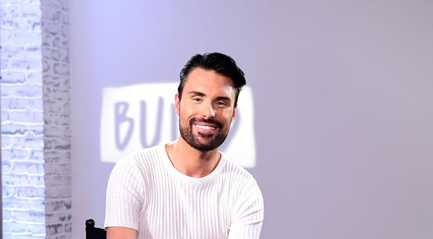Rylan Clark-Neal said he was thrilled to be taking over (Ian West/PA)