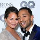 An emotional John Legend paid tribute to his wife Chrissy Teigen and described her as 'the kind of woman you write songs about' (Ian West/PA)