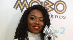 Lady Leshurr after winning best female act award at the 21st Mobo Awards at Glasgow's SSE Hydro. (PA Archive/PA Images/PA)