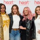 Melanie Brown, Melanie Chisholm, Emma Bunton and Geri Horner (PA)