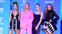 Leigh-Anne Pinnock, Jesy Nelson, Perrie Edwards and Jade Thirlwall of Little Mix (PA)