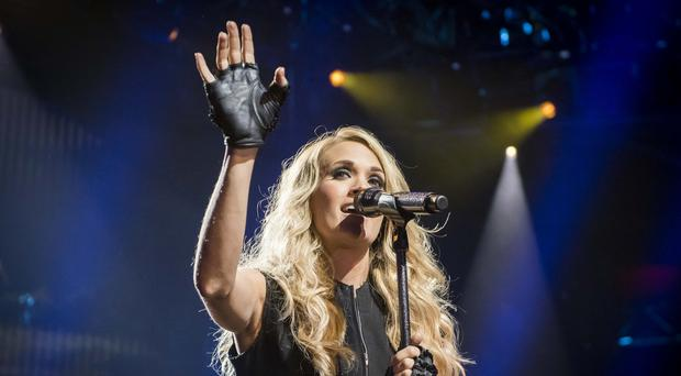 Carrie Underwood was hosting the Country Music Association Awards (David Jensen/PA)
