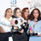 Leigh-Anne Pinnock, Perrie Edwards, Jesy Nelson and Jade Thirlwall of Little Mix, who have discussed their place in the music industry (Isabel Infantes/PA Wire)