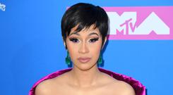 Cardi B has shared the first picture of daughter Kulture (PA)
