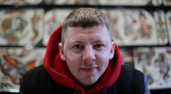 Professor Green, real name Stephen Manderson, has urged people to change their attitudes to loss. (Yui Mok/PA)