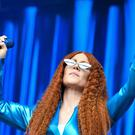Jess Glynne is headlining camp Bestival (Ben Birchall/PA)