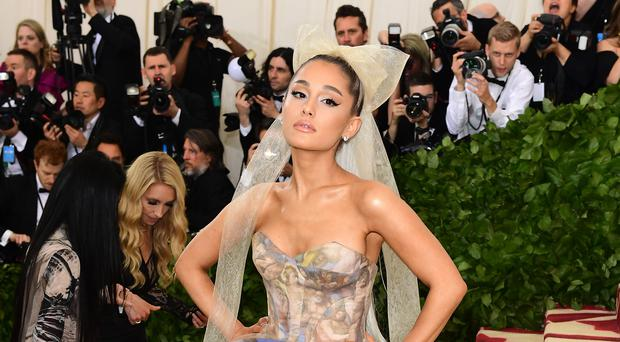Ariana Grande is one step closer to being the Christmas number one (Ian West/PA)