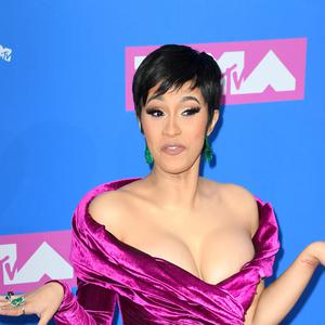 Cardi B has hit back at critics who said she should not be discussing politics (PA)
