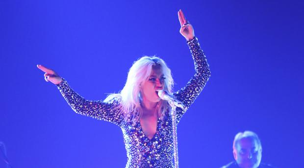 Lady Gaga performed a powerful rendition of the ballad Shallow at the Grammys (Matt Sayles/Invision/AP)