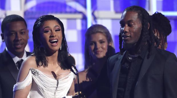 Cardi B became the first female solo winner of the best rap album Grammy (Matt Sayles/Invision/AP)