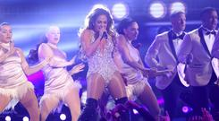 Jennifer Lopez's Motown tribute was not well received (Matt Sayles/Invision/AP)