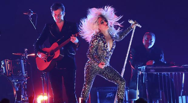 Lady Gaga performs Shallow at the Grammys (Matt Sayles/AP)