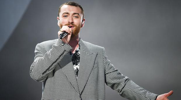 Sam Smith told his fans that he had decided to embrace his fuller look (Ben Birchall/PA)