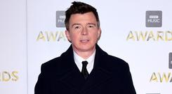 Rick Astley has performed for families in a hospice. (Ian West/PA)
